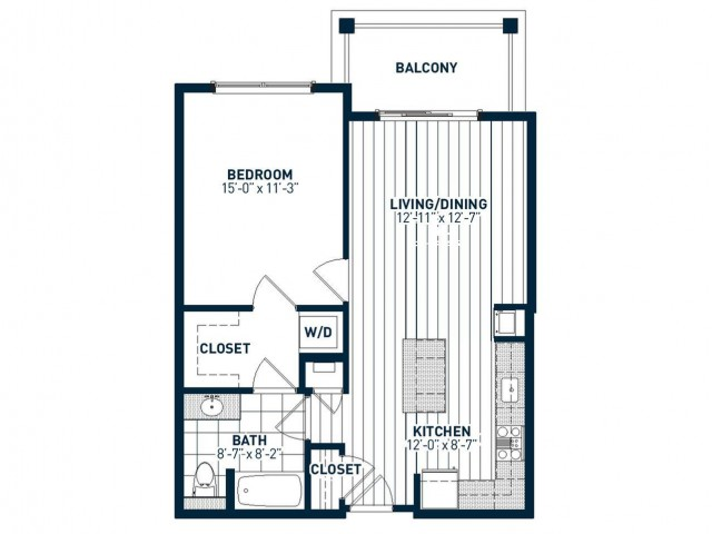 A1B Floor Plan