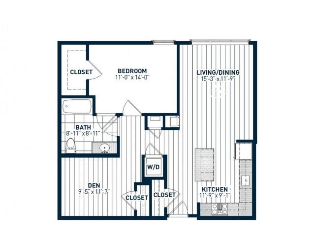 A1D Floor Plan