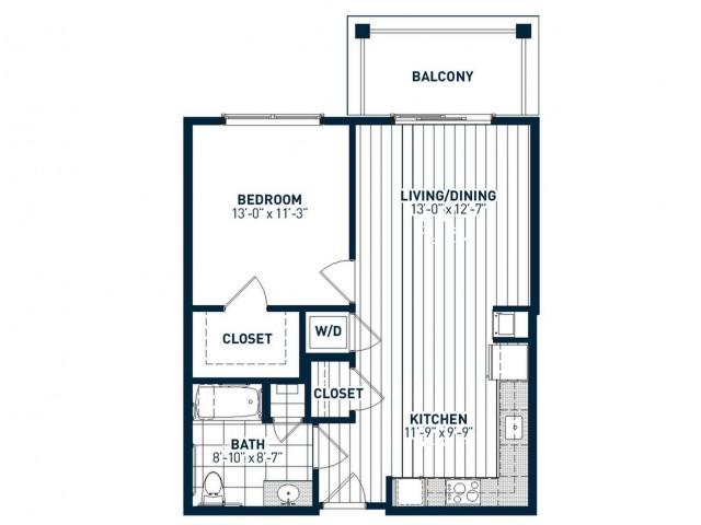 A1AH Floor Plan