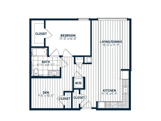 A1DH Floor Plan