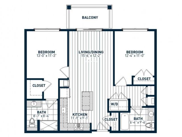B2A Floor Plan