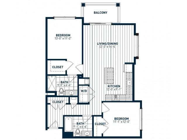 B2L Floor Plan