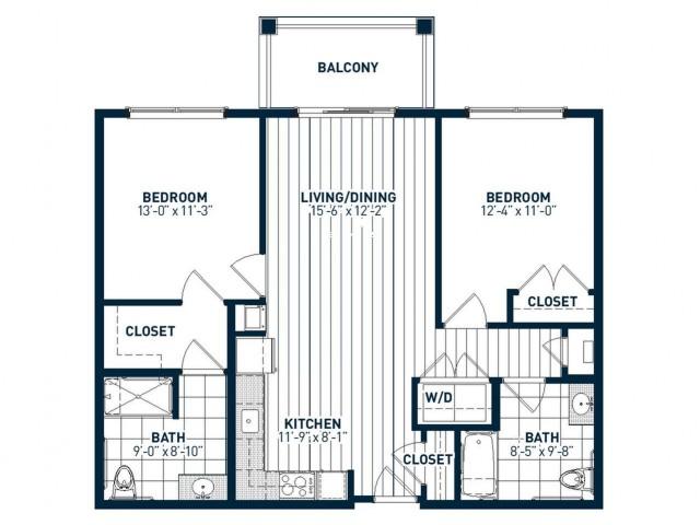 B2AH Floor Plan