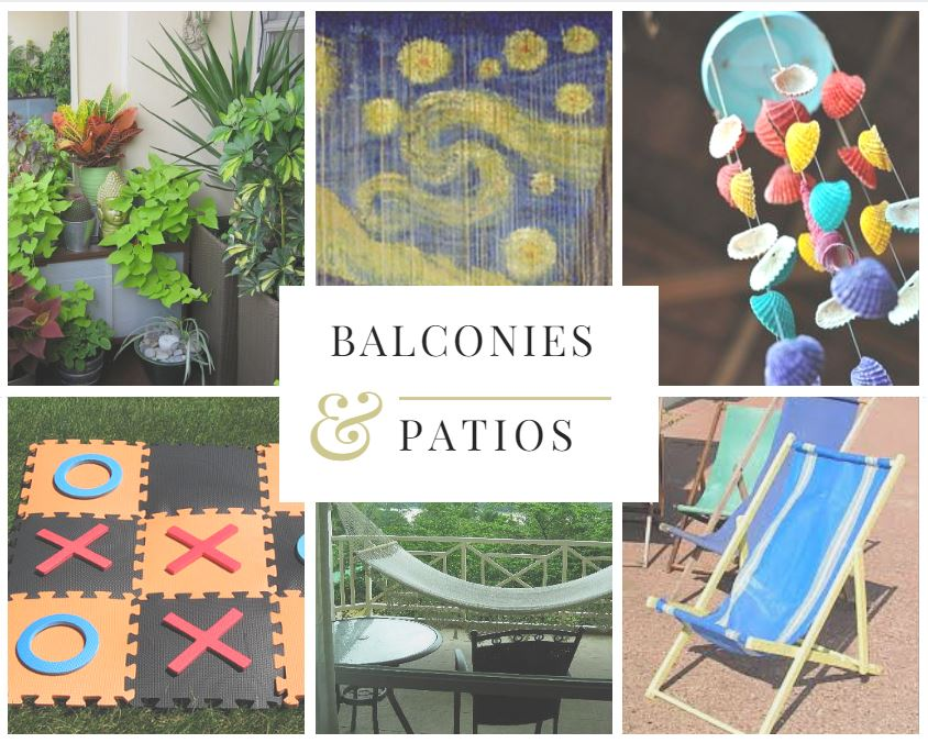 Greenwich Place Blog, West Warwick, RI  Juliet's balcony may be famous, but our residents can use these tips to get the most out of their balcony or patio.