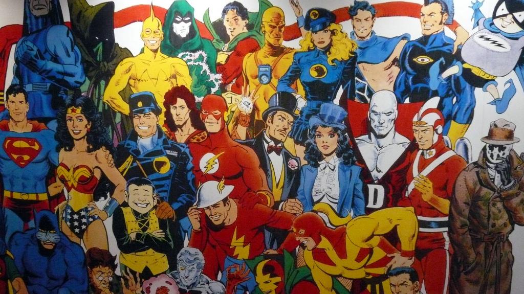 Superheroes! Comic Book Legends-image