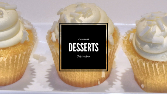 Delicious Desserts in September-image