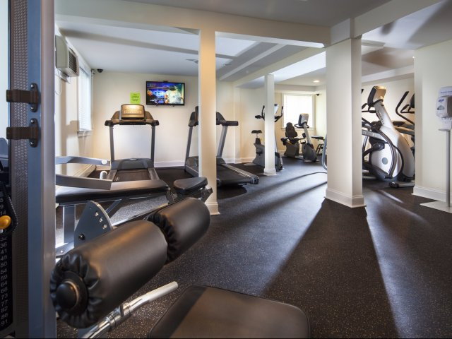 Work It  Using the Fitness Center at The Groves of Milford-image