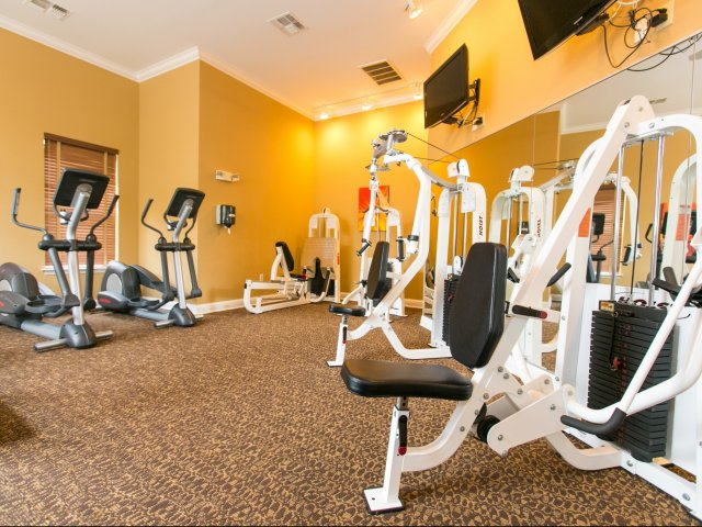 Get Fit  at Our 24-Hour Fitness Center