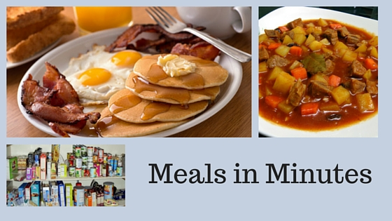 Meals in Minutes at Riverscape-image