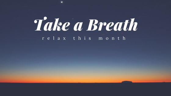 Settler's Landing Blog, California, MD  We are featuring several ways to help you calm down and relax this April. Thanks for reading!