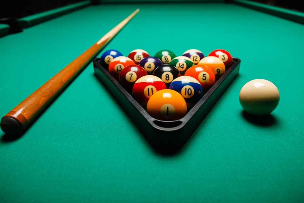 Billiards Anyone - Kensington pool table