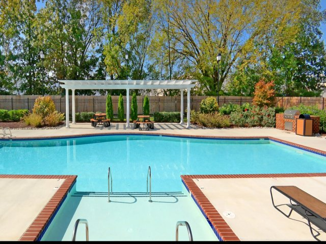 Image of Poolside Grilling Area for Waverton Denbigh Village
