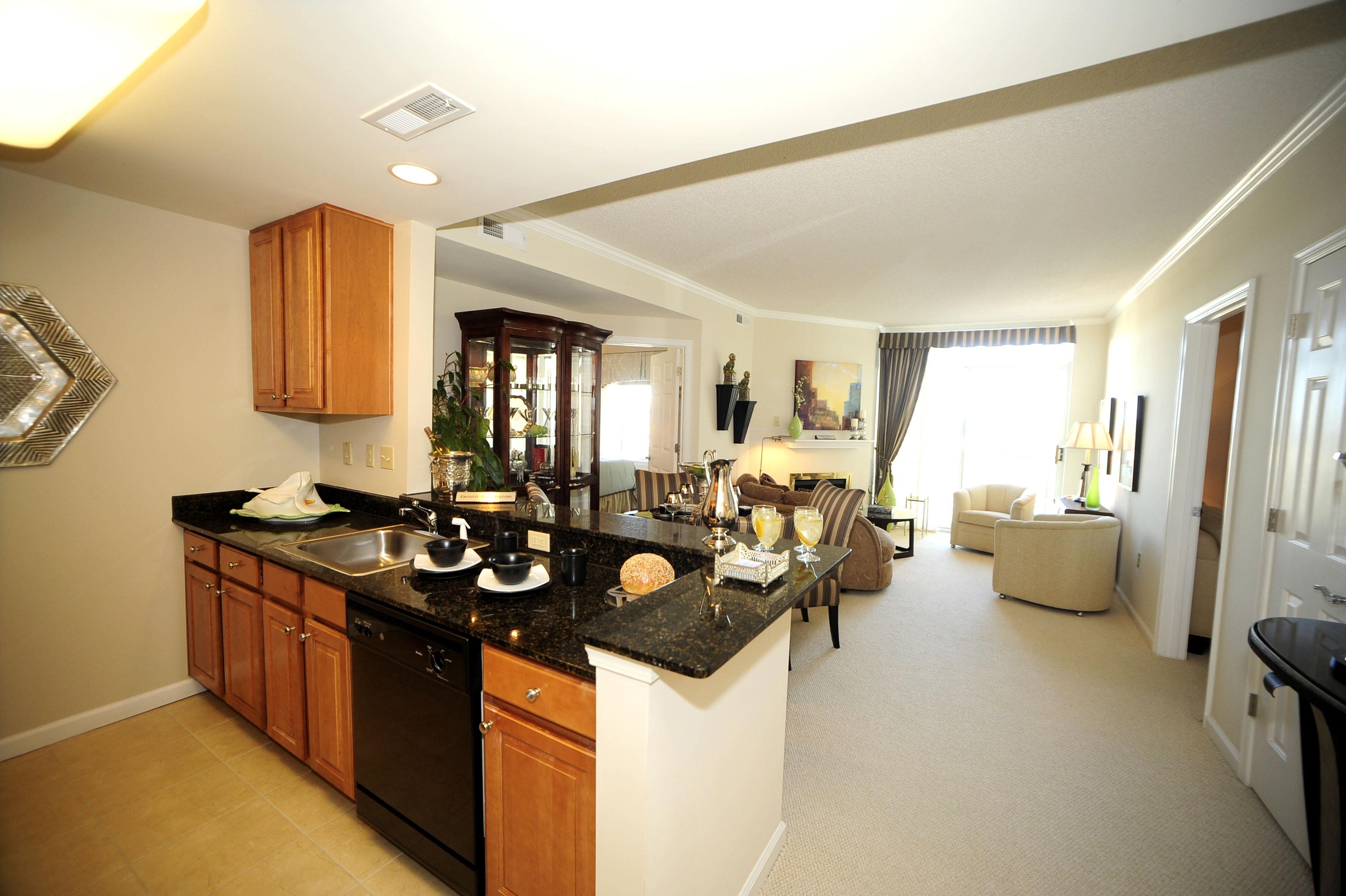 Image of Granite Countertops for The Cosmopolitan Apartments