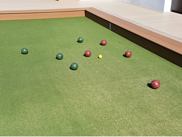 Image of Lawn Games for Mezzo Apartment Homes