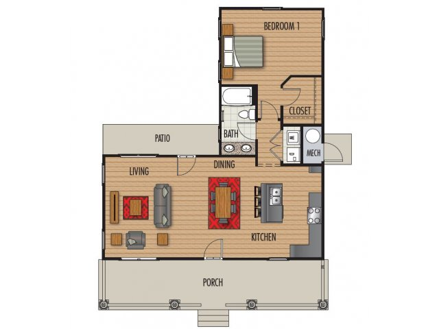 Floor Plan | Homestead at Hartness