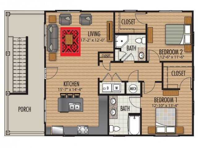 Floor Plan 2 | Homestead at Hartness
