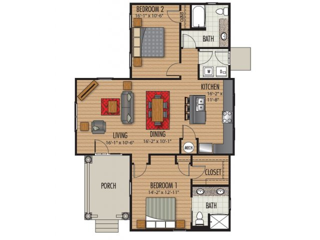 Floor Plan 3 | Homestead at Hartness