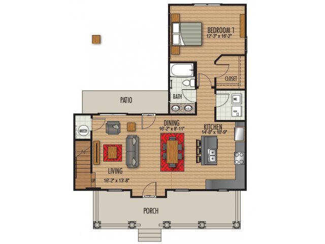 Floor Plan 6 | Homestead at Hartness