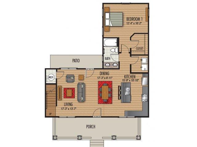 4 Bedroom Floor Plan   Homestead at Hartness