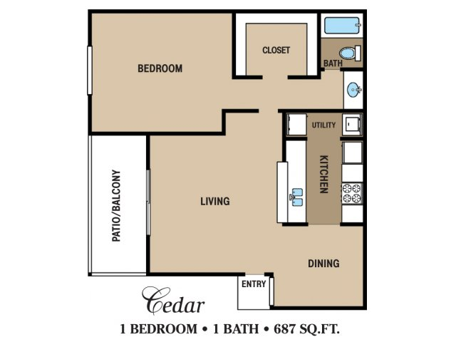 Floor Plan 2 | Walden Pond and the Gables
