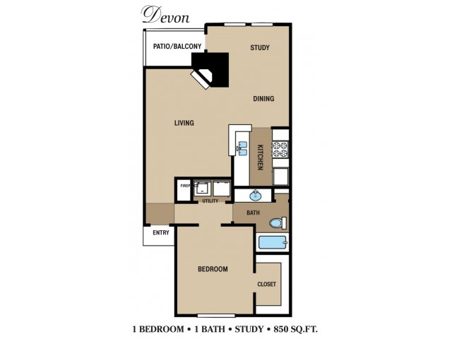 Floor Plan 5 | Walden Pond and the Gables
