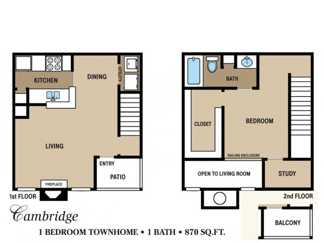 Floor Plan 7 | Walden Pond and the Gables