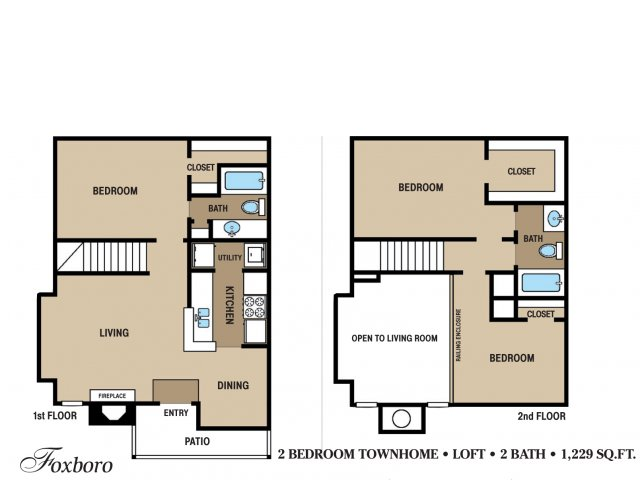 Floor Plan 11 | Walden Pond and the Gables