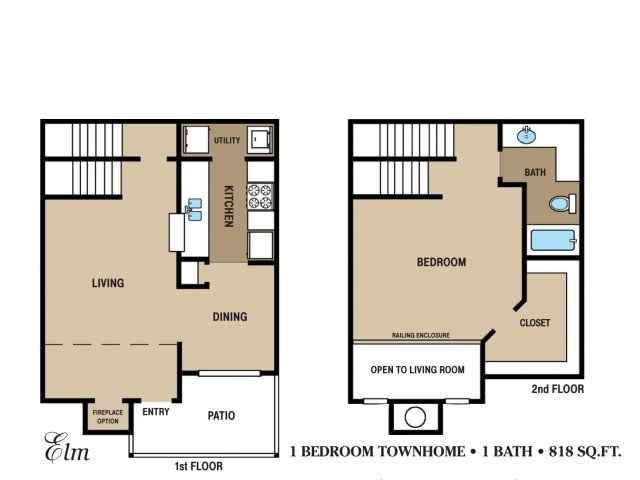 Floor Plan 12 | Walden Pond and the Gables