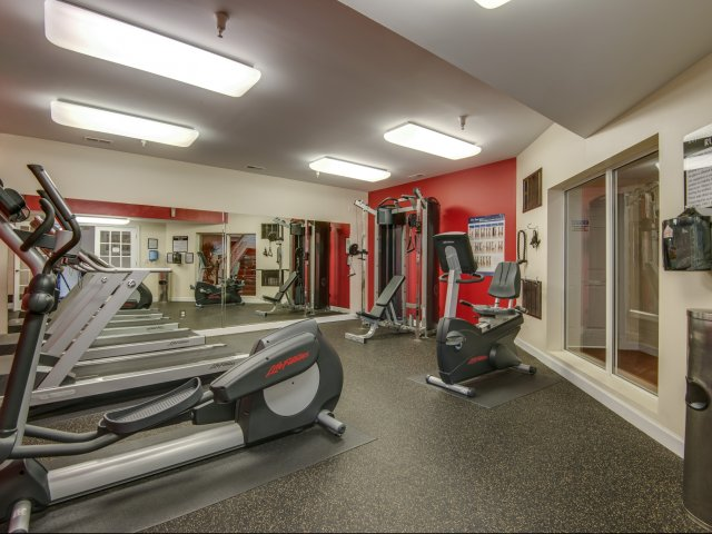 Image of 24 Hour Fitness Gym for Preserve at Research Park