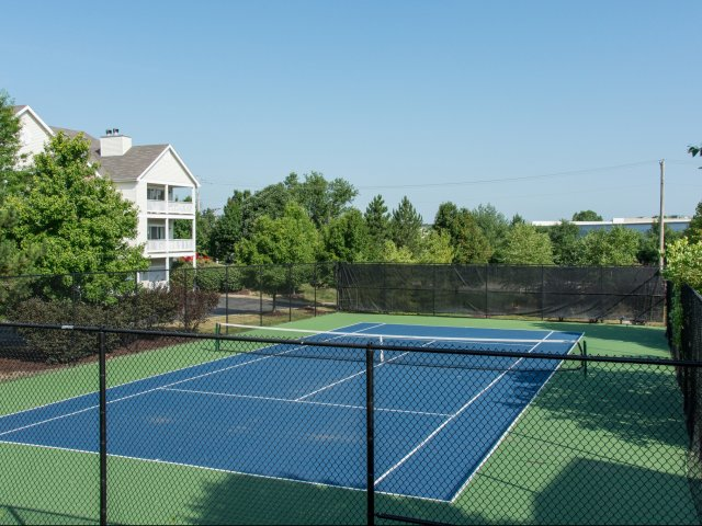 Image of Tennis Court for Preserve at Research Park