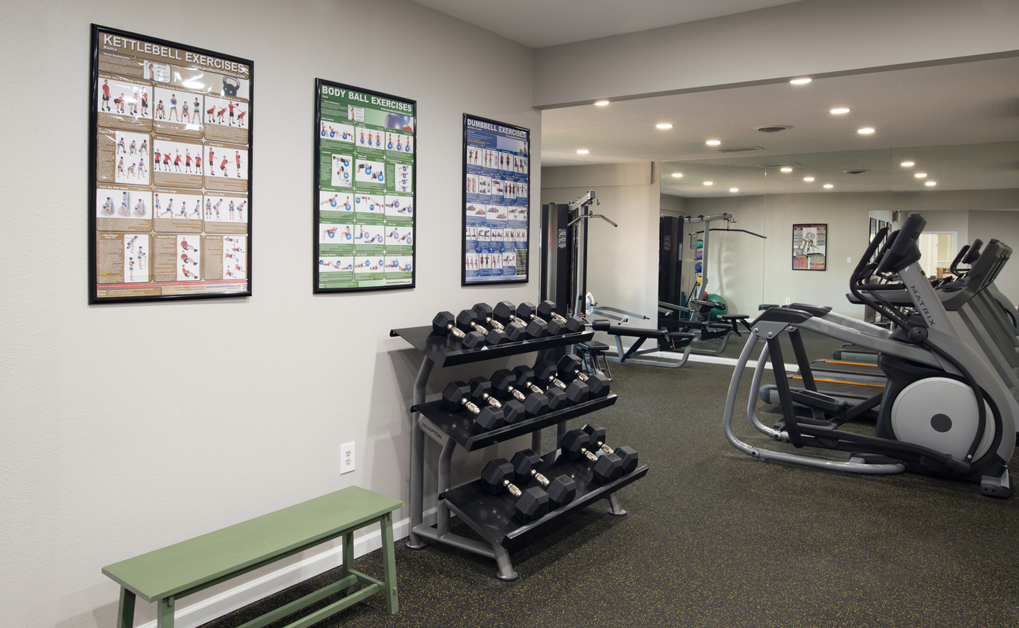 Image of 24 Hour Fitness Center for Steeplechase Apartments