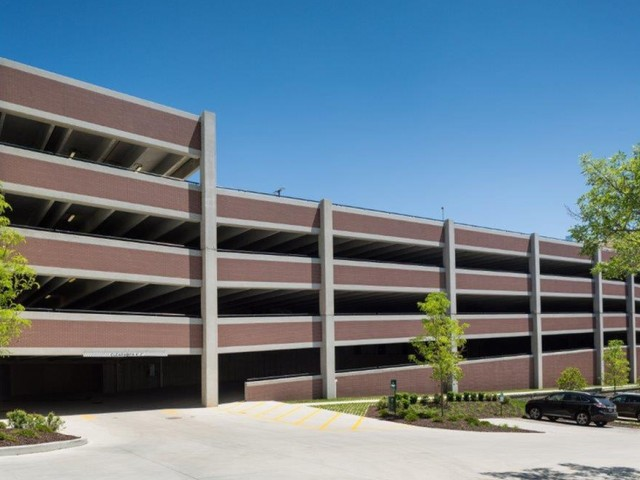 Image of Open Air Parking Garage for Vanguard Heights
