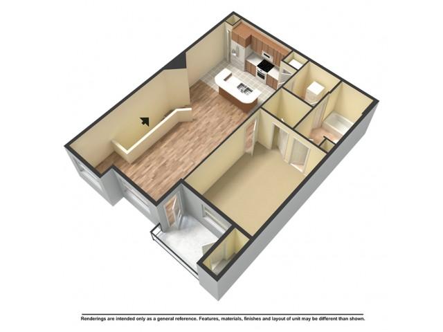 One Bedroom Luxury Terrace