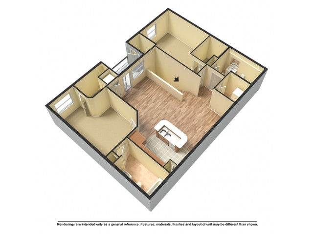 Two Bedroom Premier Terrace