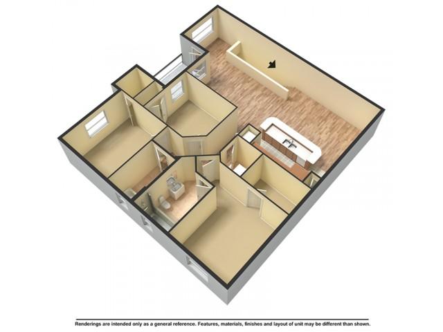 Three Bedroom Premier Terrace