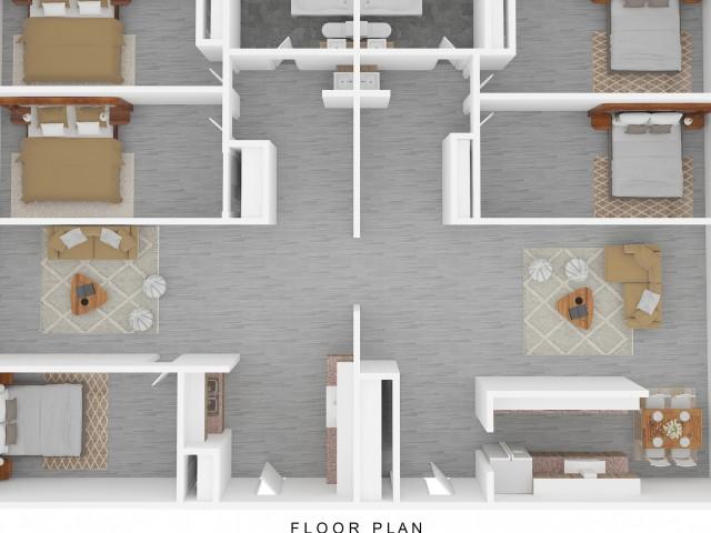 5 x 2 floor plan