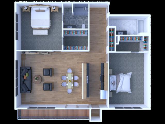 Two Bedroom - Deluxe