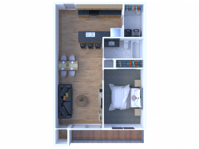 One Bedroom - View