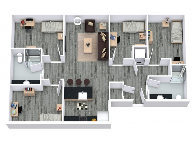 4BR 5 Occupant Deluxe Style More Space