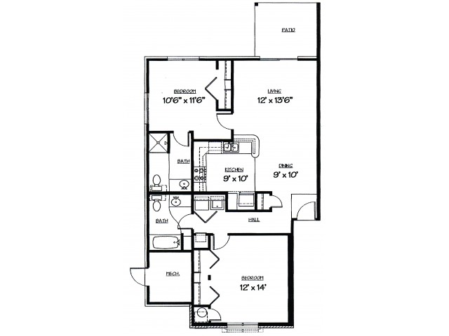 Meadow Floor Plan