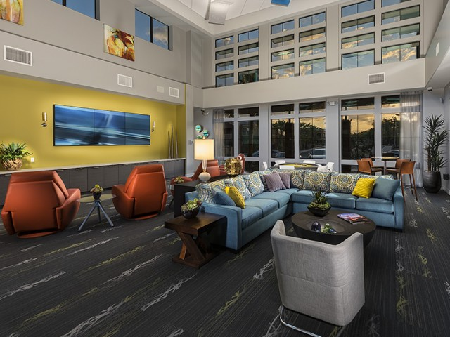 Image of 24/7 access to The Hub with business center, media room and gaming systems for Liv Ahwatukee