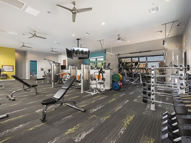 Image of 24/7 access to the Liv Fit fitness center for Liv Ahwatukee