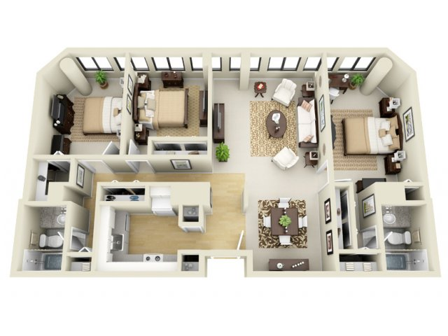 Superbe All|Floor PlansFloor Plan E