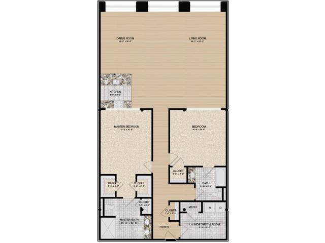 Floor Plan 3 | Loft 27