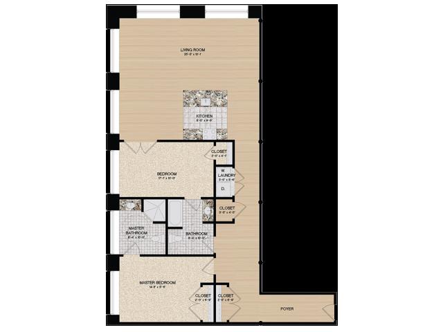 Floor Plan 4 | Loft 27