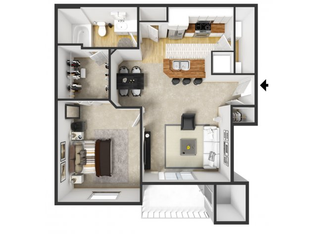 Floor Plan 4 | Merritt at Sugarloaf