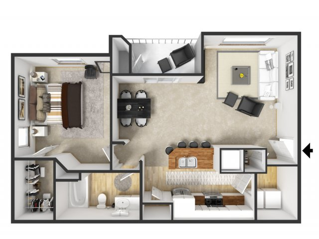 Floor Plan 16 | Merritt at Sugarloaf