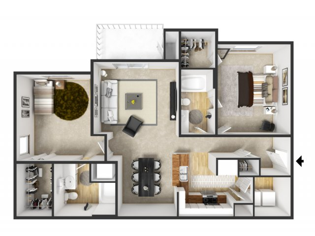 Floor Plan 34 | Merritt at Sugarloaf