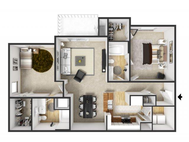 Floor Plan 49 | Merritt at Sugarloaf