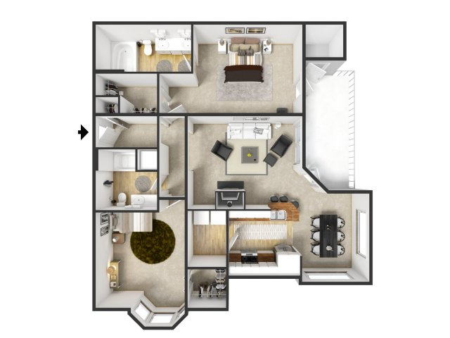 Floor Plan 61 | Merritt at Sugarloaf
